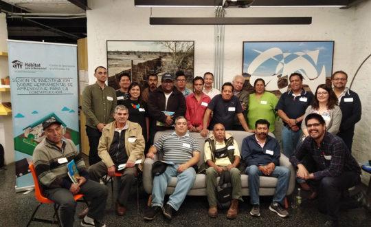 Sesión para conocer sobre herramientas de aprendizaje para la construcción