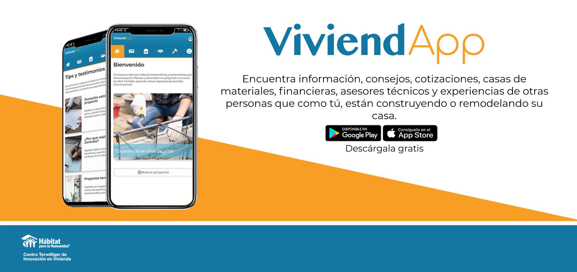 Conoce ViviendApp
