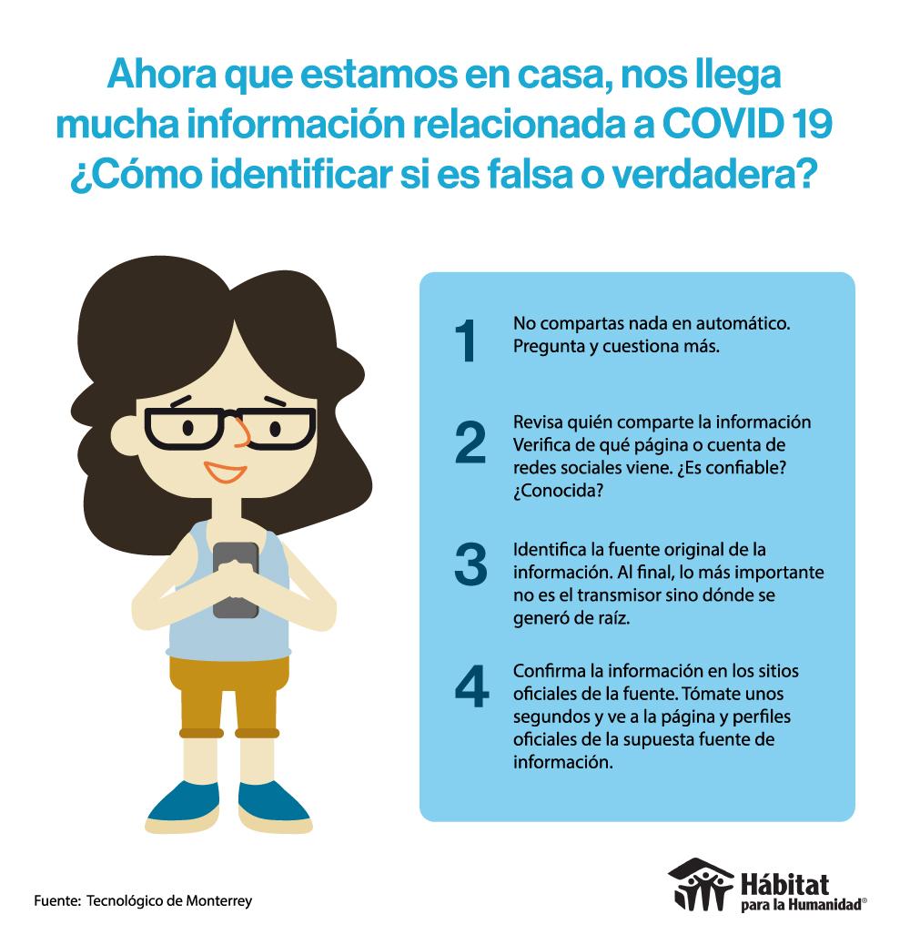 ¿Cómo identificar información falsa?